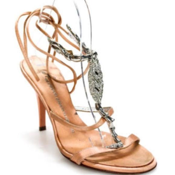 e039f02a1 Giuseppe Zanotti Shoes - Giuseppe Zanotti Silver Jeweled Scorpion Heel